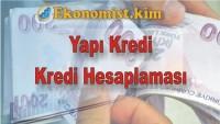 Yapı Kredi Kredi Hesaplama 2019