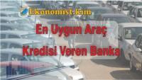En Uygun Araç Kredisi Veren Bankalar 2019