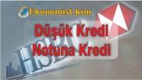 HSBC Düşük Kredi Notuna Kredi Başvurusu