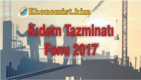 Kıdem Tazminatı Fonu 2019