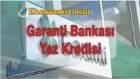 Garanti BBVA Yaz Kredisi Başvurusu Ve Hesaplaması
