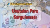 [GÜNCEL] Banka Hesabında Unutulan Parayı Sorgulama 2019