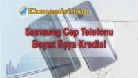 Samsung Cep Telefonu Beyaz Eşya Kredisi 2229 SMS Kredi Başvurusu ING Bank