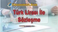 Menkul ve Gayrimenkul Alım, Satım, Kiralamasında Türk Lirası Düzenlemesi