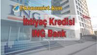 ING Bank İhtiyaç Kredisi Hesaplaması 2019